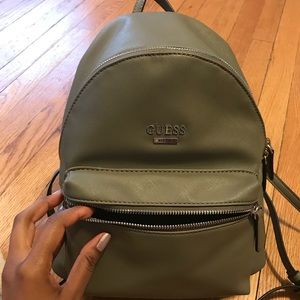 2970f84ee0 Guess Bags - Olive Green Guess Backpack